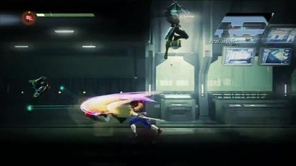 Strider(ps3) - платформена екшън игра с нинджа и роботи