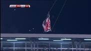 ВИДЕО от скандалния мач между Сърбия и Албания