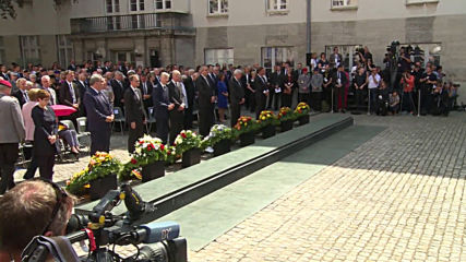 Germany: Merkel commemorates 75th anniversary of assassination attempt on Hitler