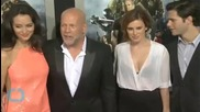 """Rumer Willis Wanted to """"Surprise"""" Bruce Willis and Demi Moore With Her Incredible DWTS Debut"""