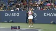 Us Open 2012 Irina-camelia Begu - Caroline Wozniacki