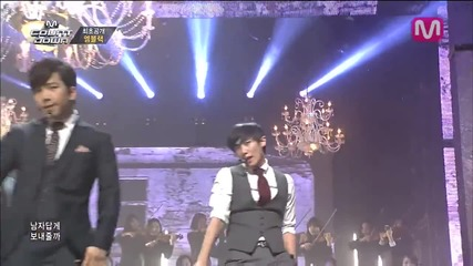 (be A Man by Mblaq of M Countdown 2014.3.27)
