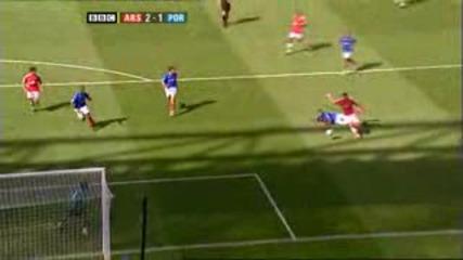 Arsenal vs Portsmouth 4:1
