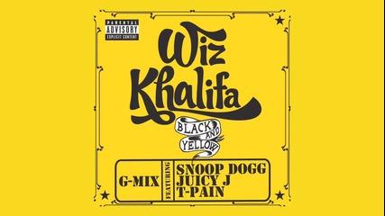 Wiz Khalifa Ft. Snoop Dogg Juicy J and T - Pain - Black And Yellow [g - Mix]