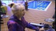 Кристина спортува