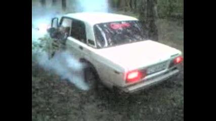 Lada Burnout