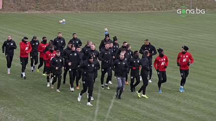 Първа тренировка на ЦСКА за 2020 г
