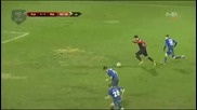 Уреден мач в Албания, вратарят не знае?
