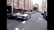Chrome Lamborghini Murcielago Lp640 Roadster задеяства алармите на спрелите коли по улицата (1)