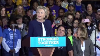 USA: If he wins Trump 'could start a real war, not just a twitter war' – Clinton