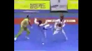 Tae Kwon Do Sparring And Breaking.avi