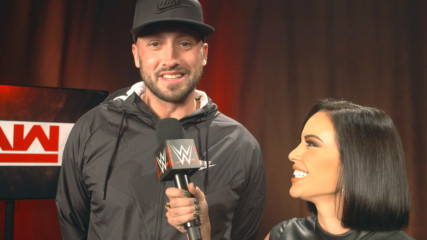 The inner fan of Patriots' quarterback Brian Hoyer emerges on Raw: WWE.com Exclusive, Oct. 22, 2018