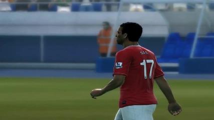 1# Дуспи - Pes 2012 - Реал Мадрид - Манчестър Юнайтед