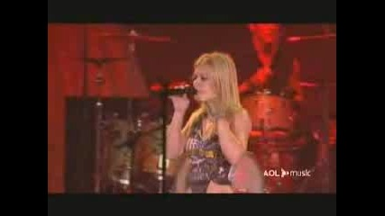 Kelly Clarkson Addicted Live