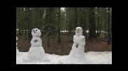 Луд Разрушава Снежни Човеци