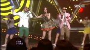 [hd] Mighty Mouth ft. Soya - Bad boy ~ Inkigayo (13.05.2012)