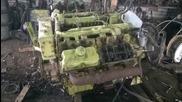 Тестване на 16 литров двигател Ифа V8 - 242 к.с