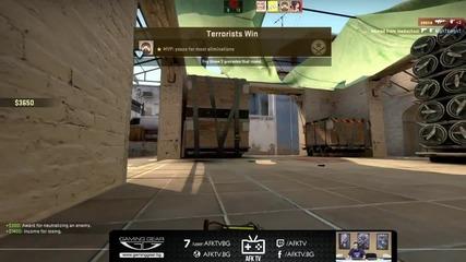 Counter-Strike:GO игра със зрителите