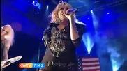 Ke$ha - Blah Blah Blah (live) + превод