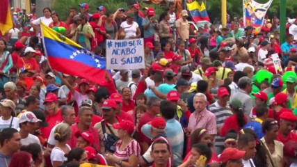 Venezuela: Thousands hit the streets in support of Maduro's government
