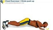 Индийски начин за тренировка на рамене, трицепс и гърди в домашни условия