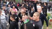 Фенове на Локо Пд заляха Бургас, без проблеми на стадиона