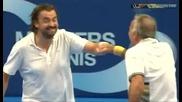 Mansour Bahrami - ludiiat tenisist