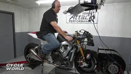 Attack Performance Motogp Crt Dyno Test