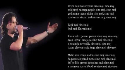 Aca Lukas - Sine moj - (Audio - Live 1999)