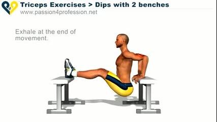 Упражнение за Трицепс - Домашни условия!