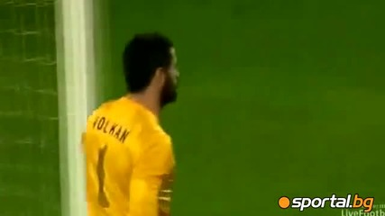 Роналдо с нова изпусната дузпа 03 юни 2012  