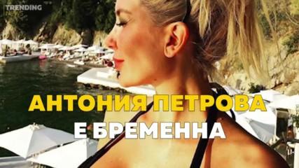 Антония Петрова е бременна!