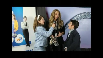 Top Choice Magazine Winter 2010 at Luxy with Trish Stratus and Wee Reporters