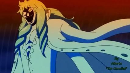 One Piece Amv (rob Zombie - Demon Speeding)