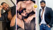 Азис полегна в скута на секси мъж! Това ли е новият човек в живота му?