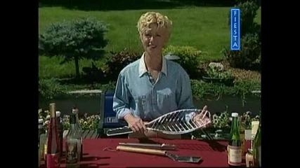 Скара за приятели - Решетка за печене на риба