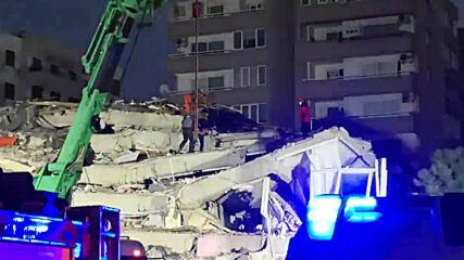 Turkey: Rescue efforts underway after deadly earthquake hits Bayrakli