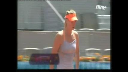 Мария Шарапова се класира на полуфинал в Мадрид