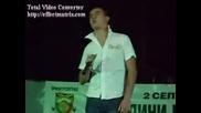 Пич пее на празник в Димитровград