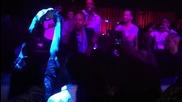 Usain Bolt does Gangnam Style Dance while Djing in Barcelona