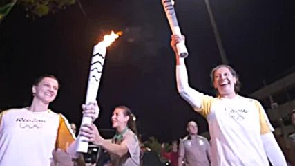 Олимпийският огън приближава Рио