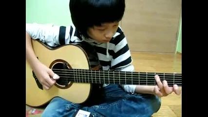 Момче,което има талант ! :)