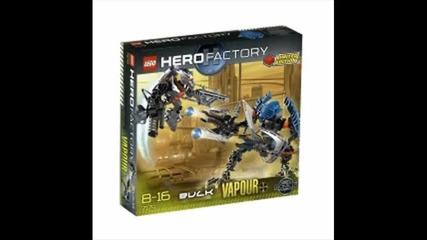 Hero Factory New Set - Bulk and Vapour