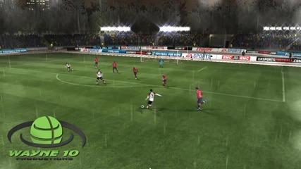 Krasiv gol na Ronaldo Fifa 11 *hd*