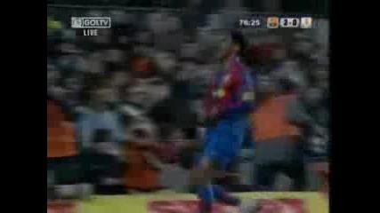 Barcelona Vs Real Murcia 4 - 0