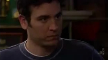 Ted and Barney telepathic conversation