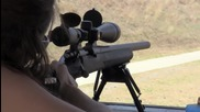 Girls Shooting Remington 700 Tactical .308 Rifle