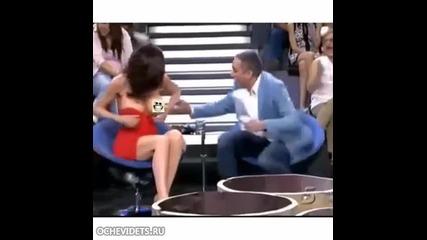 Изцепка по време на телевизионно шоу