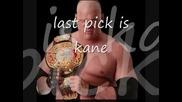 Резултатите от WWE Draft 2008