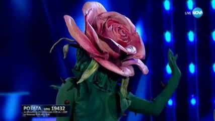 Розата изпълнява The Winners Takes It All на Abba | Маскираният певец